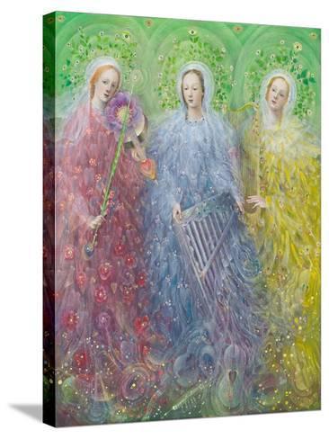 Mass for Three Voices, 2016-Annael Anelia Pavlova-Stretched Canvas Print