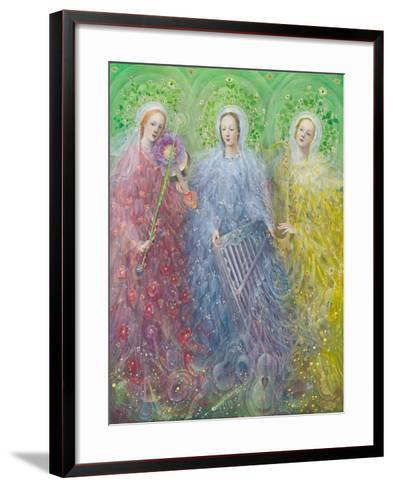 Mass for Three Voices, 2016-Annael Anelia Pavlova-Framed Art Print