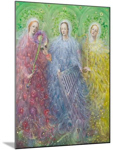 Mass for Three Voices, 2016-Annael Anelia Pavlova-Mounted Giclee Print