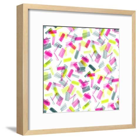 1986 Shapes, 2017-Catherine Worsley-Framed Art Print