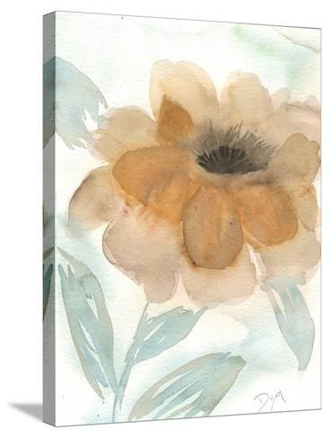 Neutral Peony II-Beverly Dyer-Stretched Canvas Print