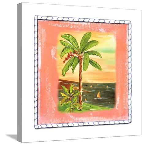 Beach-Front Banana Tree-Ormsby, Anne Ormsby-Stretched Canvas Print
