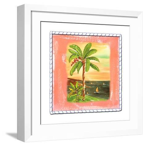 Beach-Front Banana Tree-Ormsby, Anne Ormsby-Framed Art Print