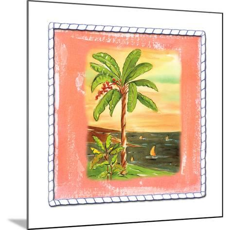 Beach-Front Banana Tree-Ormsby, Anne Ormsby-Mounted Art Print