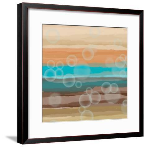 Bubbles-Alonza Saunders-Framed Art Print