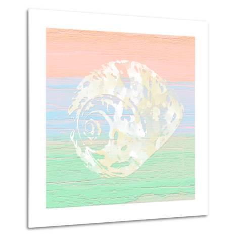 Pastel Coastal 2-Alonza Saunders-Metal Print