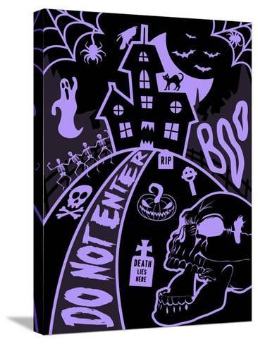 Haunted Fun House-Jace Grey-Stretched Canvas Print