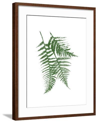 Green Ferns Mate-Jace Grey-Framed Art Print