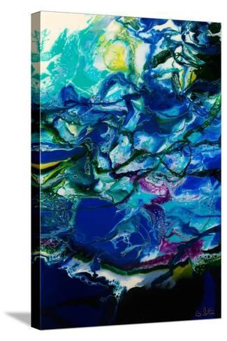Moon Tide-Barbara Bilotta-Stretched Canvas Print