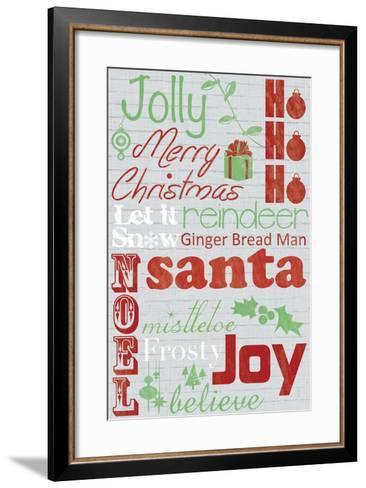 Jolly 2-Lauren Gibbons-Framed Art Print