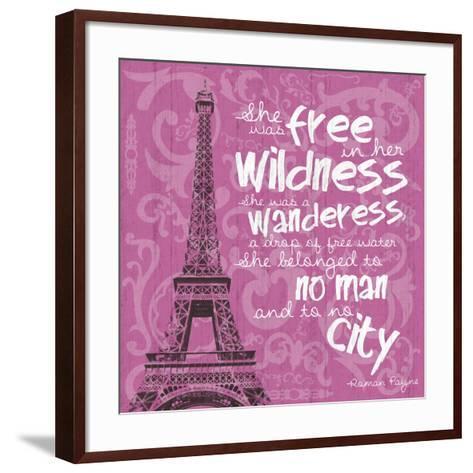 Paris City-Lauren Gibbons-Framed Art Print
