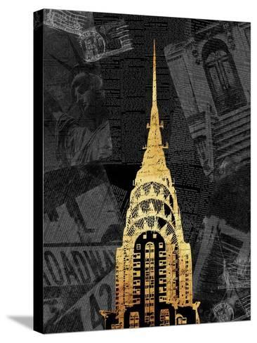 Gold NY Mate-Jace Grey-Stretched Canvas Print