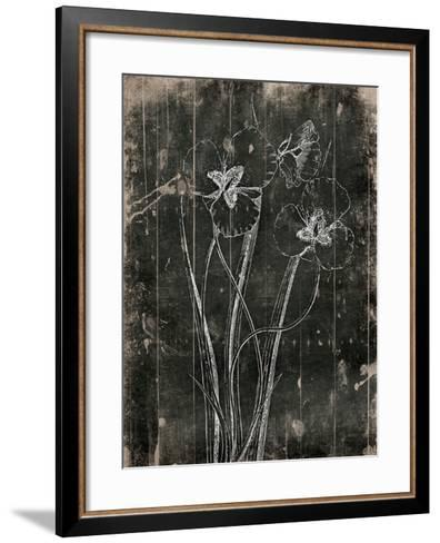 Black Wood-Jace Grey-Framed Art Print