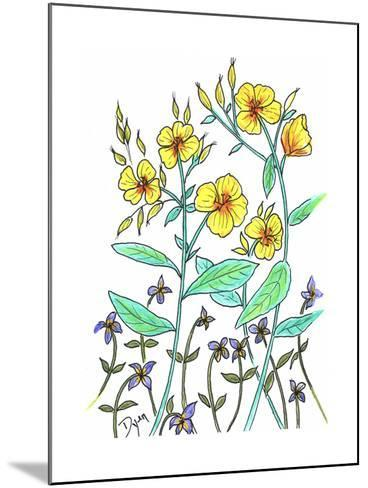 Sundrops-Beverly Dyer-Mounted Art Print