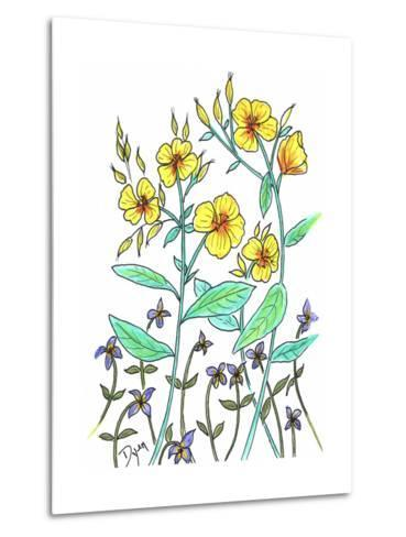 Sundrops-Beverly Dyer-Metal Print
