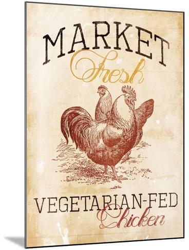 Vegetarian Fed Chicken-Jace Grey-Mounted Art Print