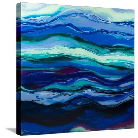 Twilight Rhythm-Barbara Bilotta-Stretched Canvas Print