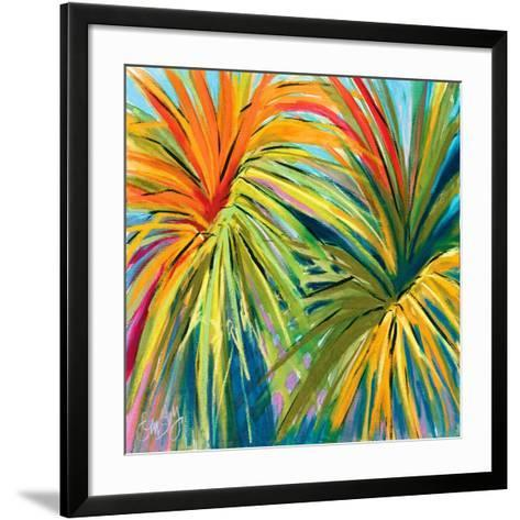 Firework Leaves-Ormsby, Anne Ormsby-Framed Art Print