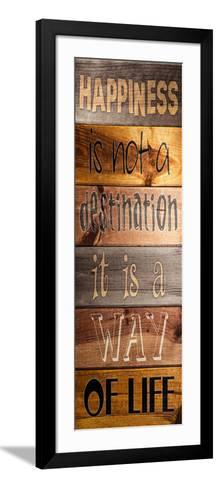 Happiness Plank-Stimson, Diane Stimson-Framed Art Print