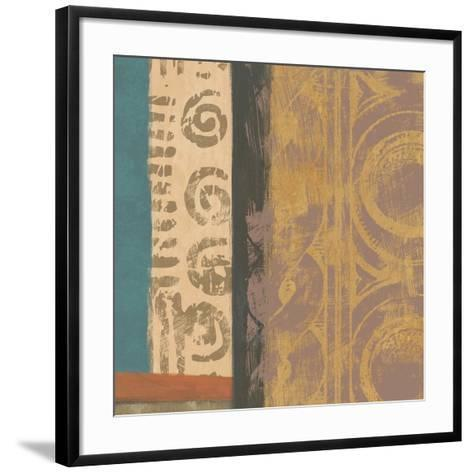 African Tribe 2-Alonza Saunders-Framed Art Print