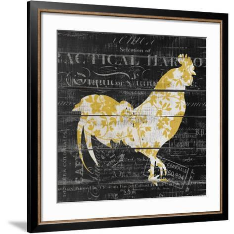Le Coq 1-Stimson, Diane Stimson-Framed Art Print