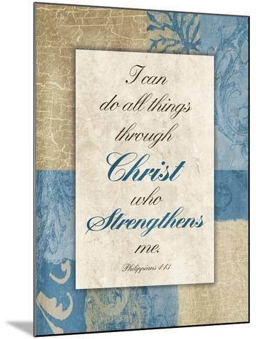 Christ Strength-Jace Grey-Mounted Art Print