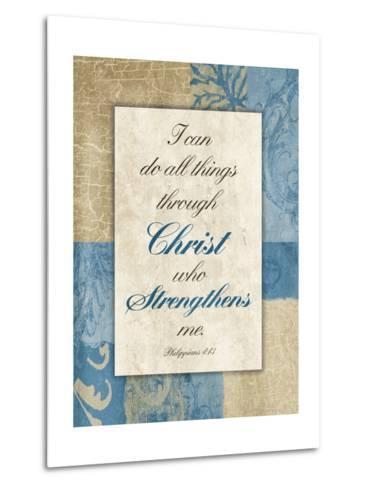 Christ Strength-Jace Grey-Metal Print