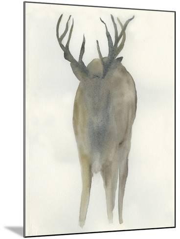Solo Deer-Beverly Dyer-Mounted Art Print