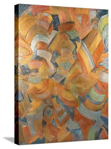 The City That Never Sleeps-Barbara Bilotta-Stretched Canvas Print
