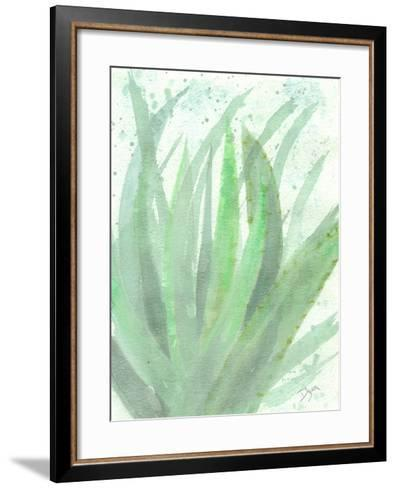 Into Green 2-Beverly Dyer-Framed Art Print