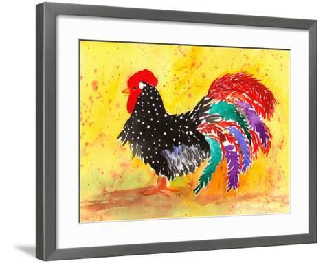 Farm House Rooster I-Beverly Dyer-Framed Art Print