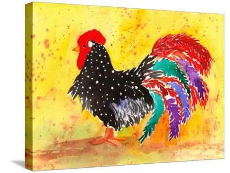 Farm House Rooster I-Beverly Dyer-Stretched Canvas Print