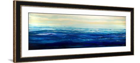 Blue Waters-Barbara Bilotta-Framed Art Print