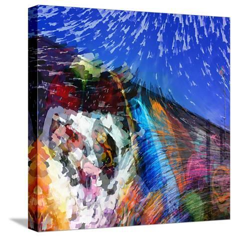 Graffiti Wall-Ursula Abresch-Stretched Canvas Print