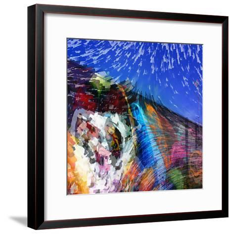 Graffiti Wall-Ursula Abresch-Framed Art Print