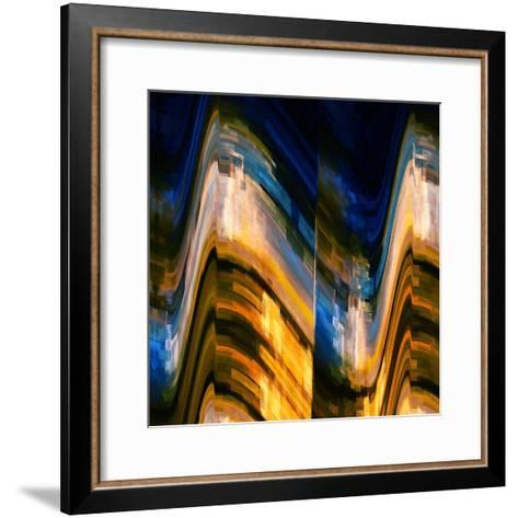 City at Night 4-Ursula Abresch-Framed Art Print