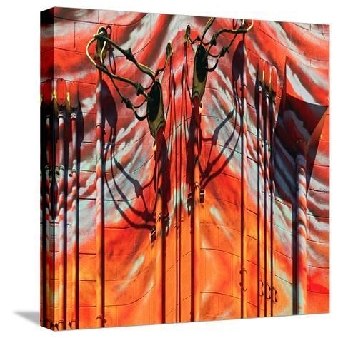 Pipes-Ursula Abresch-Stretched Canvas Print