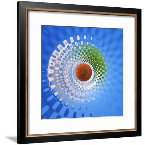 Variations on a Circle 27-Philippe Sainte-Laudy-Framed Art Print