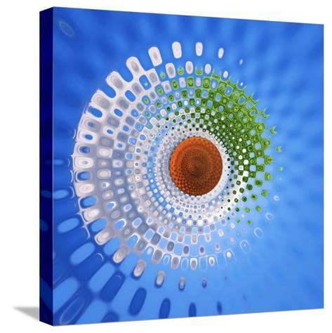 Variations on a Circle 27-Philippe Sainte-Laudy-Stretched Canvas Print