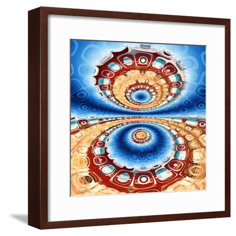 Variations on a Circle 33-Philippe Sainte-Laudy-Framed Art Print