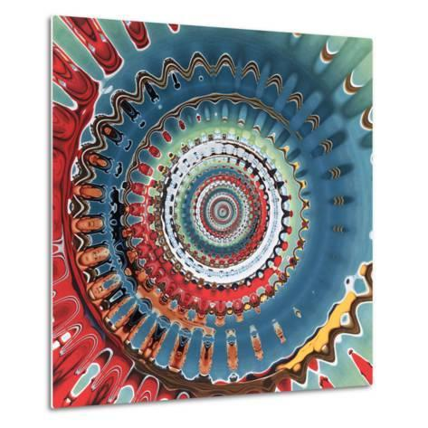 Variations on a Circle 10-Philippe Sainte-Laudy-Metal Print