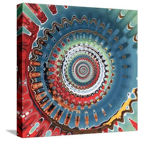 Variations on a Circle 10-Philippe Sainte-Laudy-Stretched Canvas Print