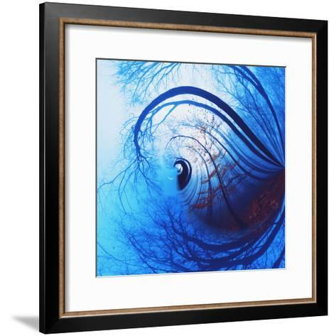 Variations on a Circle 12-Philippe Sainte-Laudy-Framed Art Print