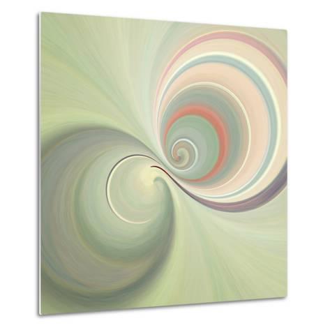 Variations on a Circle 3-Philippe Sainte-Laudy-Metal Print