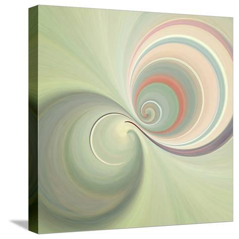 Variations on a Circle 3-Philippe Sainte-Laudy-Stretched Canvas Print