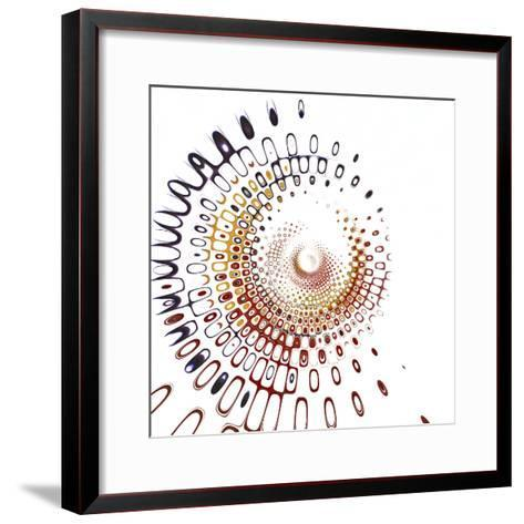 Variations on a Circle 28-Philippe Sainte-Laudy-Framed Art Print