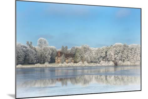 broceliande castle in winter morning-Phillipe Manguin-Mounted Photographic Print