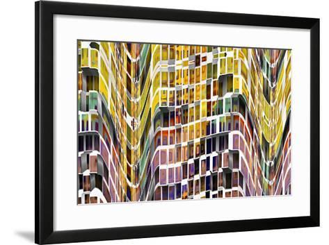 Little Boxes 1-Ursula Abresch-Framed Art Print