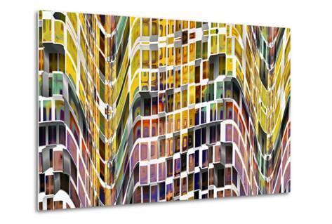 Little Boxes 1-Ursula Abresch-Metal Print