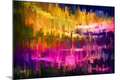 City at Night 2-Ursula Abresch-Mounted Photographic Print
